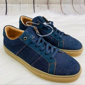 NEW GREATS Royale Jeans Low Top Sneakers Mens Sz 7